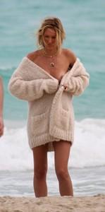 Marie Claire Magazine Photoshoot in Miami (February 2014)