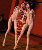 Umbrafox Aladdin Jasmine's Trials 3D Beastiality Comic