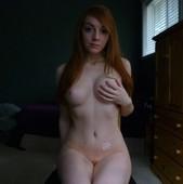 hot amateur redhead