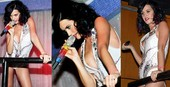 Katy Perry Oops! Desliz Areola Pezón