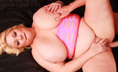 Samantha 38G   Busty blonde fuck and Dildo Delivery HD