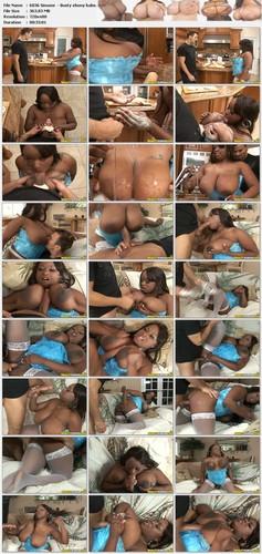 Simone Staxxx   Busty ebony babe gets fucked hard