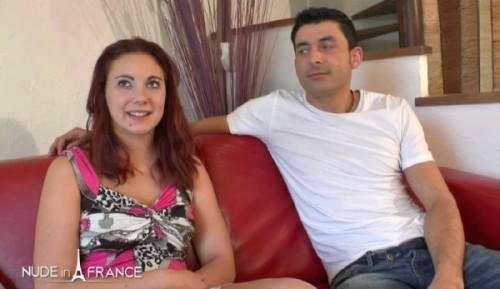 Stephanie - Teen Stephanie gets anal fucked and facialized in threesome - NudeInFrance (HD)