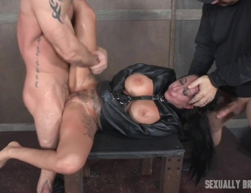 Lily Lane, Matt Williams, Sergeant Miles - Lily Lane is our new Alt big titted tan slut who can take a dick like a champ! Bondage and rough sex - SexuallyBroken (SD)