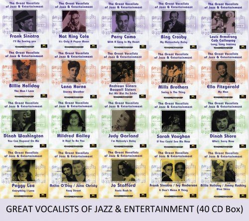 VA - The Great Vocalists Of Jazz & Entertainment (2004)