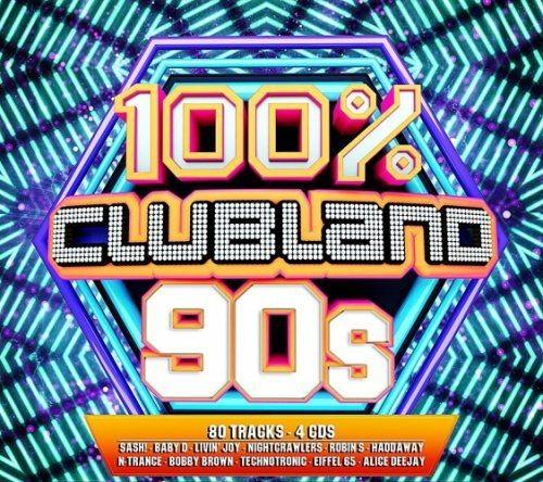 VA - 100% Clubland 90s (2017)