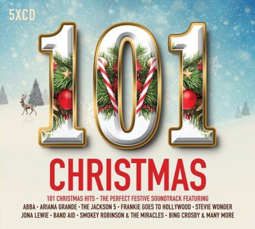 VA - 101 Christmas [5CD] (2017)