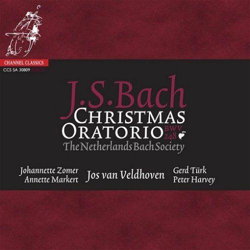 Jos van Veldhoven, The Netherlands Bach Society - J.S.Bach: Christmas Oratorio, BWV 248 (2003/2009) [HDtracks] Full Album