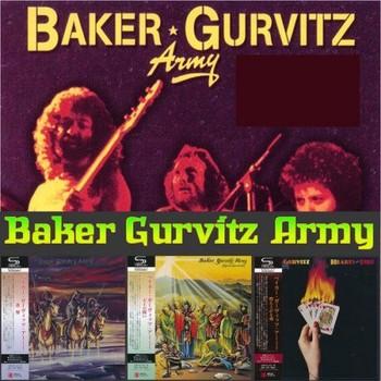 Baker Gurvitz Army - 3 Albums [Japanese Mini LP SHM-CD] (2017) Full Album