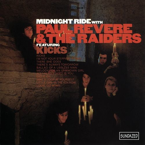 Paul Revere & The Raiders - Midnight Ride (Reissue) (1966/2000)
