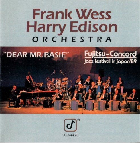 The Frank Wess-Harry Edison Orchestra - Dear Mr. Basie (1989)