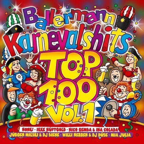 VA - Ballermann Karnevalhits Top 100 Vol 1 (2018)