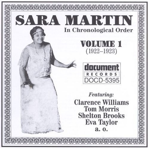 Sara Martin - In Chronological Order Vols. 1 - 4 (1995)