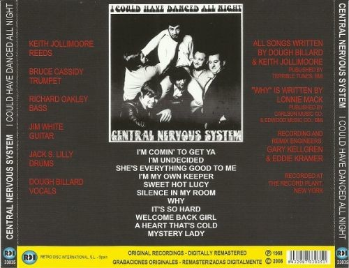 Central Nervous System - I Could Have Danced All Night (Reissue) (1968/2008)