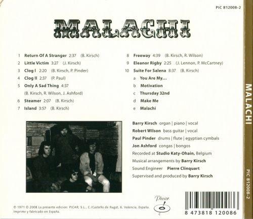 Malachi - Malachi (Reissue) (1971/2008)