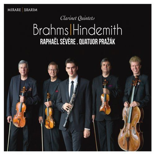 Rapha?l S?v?re & Prazak Quartet - Brahms & Hindemith: Clarinet Quintets (2015) [Hi-Res]