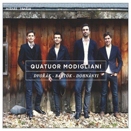 Quatuor Modigliani - Dvor?k, Bart?k & Dohn?nyi: Quatuors ? cordes (2015) [Hi-Res]