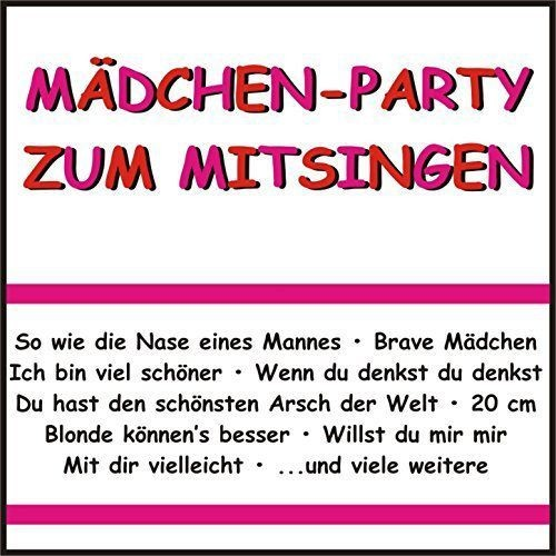 VA - Mädchen-Party Zum Mitsingen (2016)