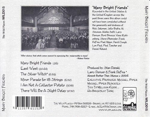 Many Bright Things - Many Bright Friends (2005)