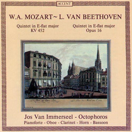 Jos van Immerseel, Octophoros - Mozart, Beethoven: Quintets (1985)