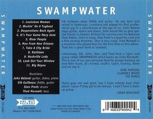 Swampwater - Swampwater (Reissue) (1971/1995)