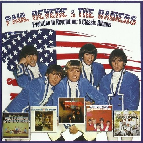 Paul Revere And The Raiders - Evolution to Revolution: 5 Classic Albums (1965-67/2013)