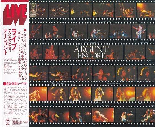 Argent - Encore: Live in Concert (Japan Remastered) (1974/2008) Full Album