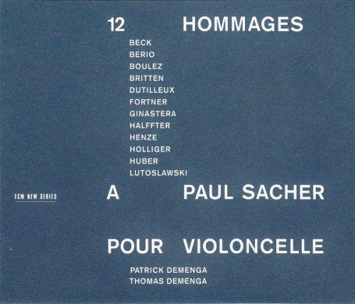 Patrick and Thomas Demenga - 12 Hommages A Paul Sacher Pour Violoncelle (1994)