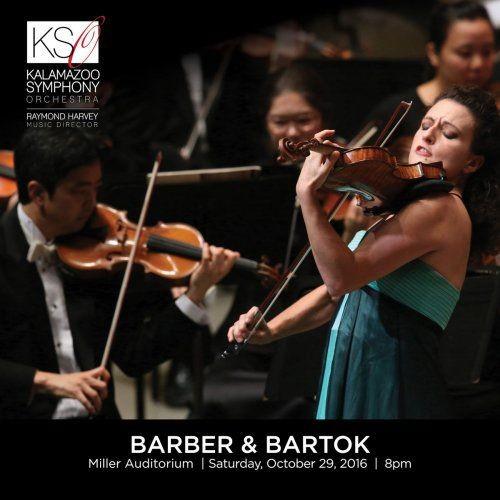 Liza Ferschtman, Stilian Kirov & Kalamazoo Symphony Orchestra - Barber & Bartók (Live) (2018) Full Album