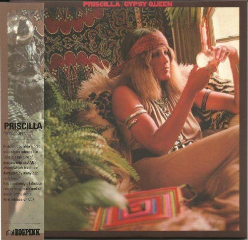 Priscilla - Gypsy Queen (Korean Remastered) (1970/2013) Full Album