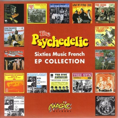 VA - The Psychedelic Sixties Music French EP Collection (Reissue, Remastered) (2003)