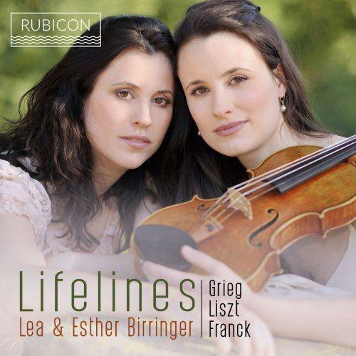 Lea Birringer & Esther Birringer - Grieg, Liszt & Franck: Lifelines (2018) [Hi-Res]