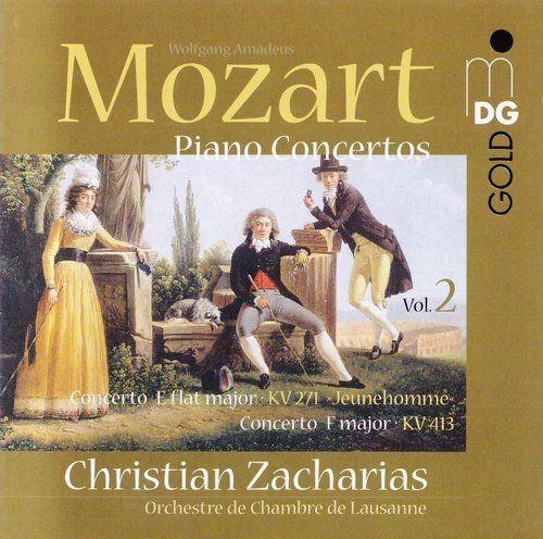 Christian Zacharias, Orchestre de Chambre de Lausanne – Mozart – Piano Concertos, Vol.2: KV271, KV41…