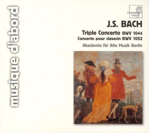 Raphael Alpermann - Bach, Muthel: Keyboard Concertos (2007) Full Album