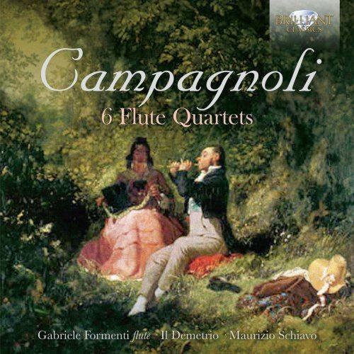 Il Demetrio, Gabriele Formenti & Maurizio Schiavo - Campagnoli: 6 Flute Quartets (2018) Full Album