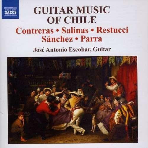Jose Antonio Escobar - Guitar Music Of Chile (2008) Full Album