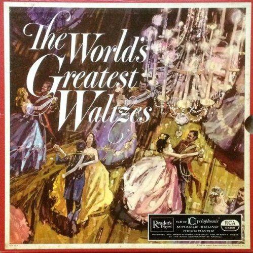 The Vienna State Opera Orchestra - The World's Greatest Waltzes - 1961, WavPack [3LP] [192/24] Full Album