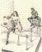 Bernard montorgueil femdom drawings